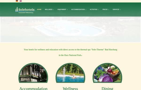 Vorschau von www.solehotels.de, Sole Hotels