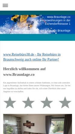 Vorschau der mobilen Webseite www.kolsdorf.com, Ferienwohnungen Kolsdorf
