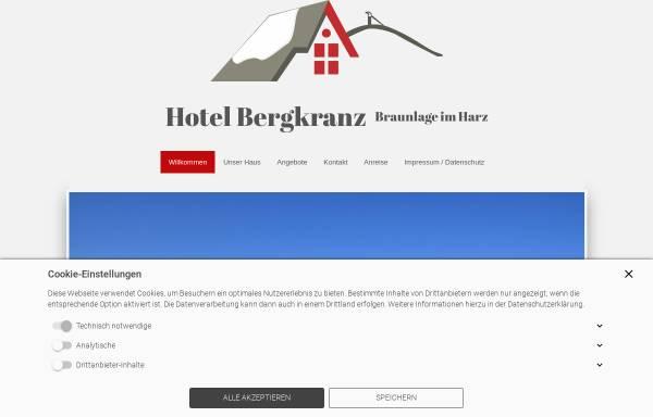 Vorschau von www.hotelbergkranz.de, Hotel Bergkranz