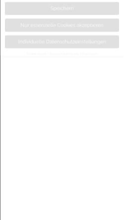 Vorschau der mobilen Webseite www.hotel-wagner-braunlage.de, Hotel und Bäckerei