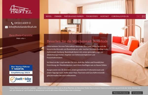 Vorschau von www.hotelanderlinah.de, Hotel an der Linah