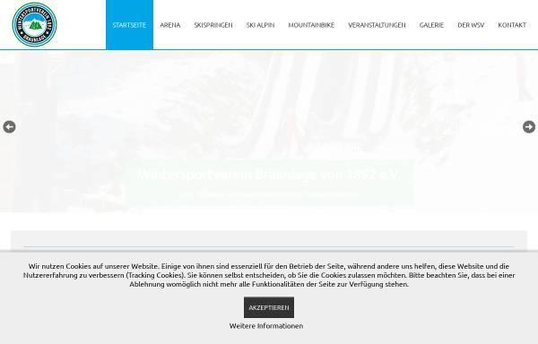 Vorschau von www.wsv-braunlage.de, Wintersportverein Braunlage von 1892 e.V.