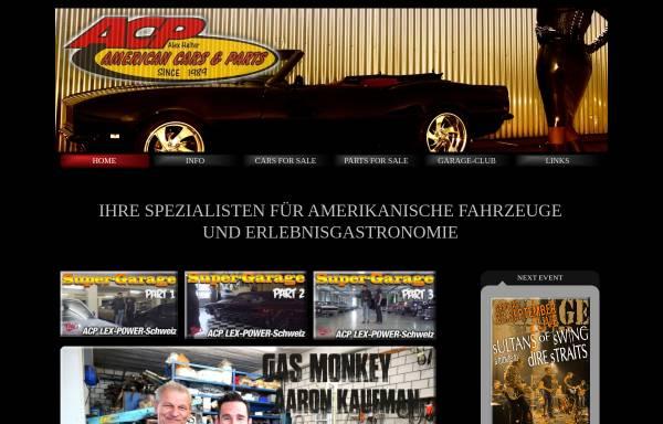 Vorschau von www.acp-cars.ch, ACP-Garage, Alex Halter