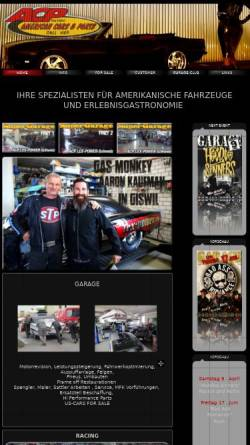Vorschau der mobilen Webseite www.acp-cars.ch, ACP-Garage, Alex Halter