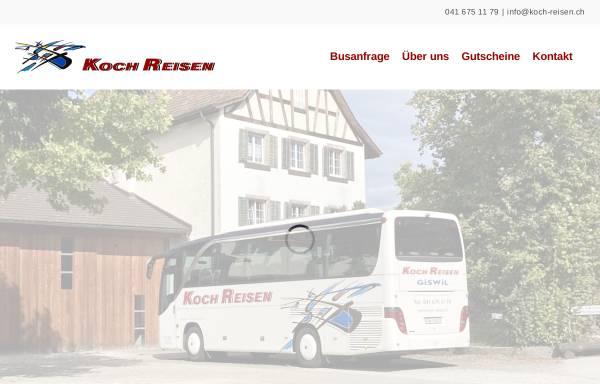 Vorschau von koch-reisen.ch, Koch Reisen AG
