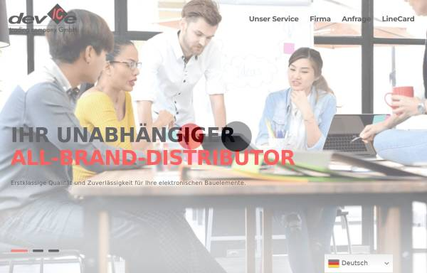 Vorschau von www.devicetrading.ch, devICe Trading Co. GmbH