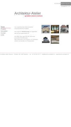 Vorschau der mobilen Webseite www.bertschi-architektur.ch, Edgar Bertschi Architektur Atelier
