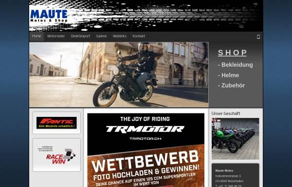 Vorschau von www.maute.ch, Maute-Motos