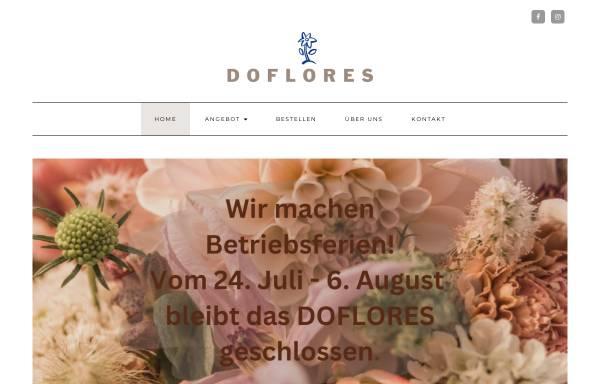 Vorschau von doflores.ch, Doflores Blumengeschäft