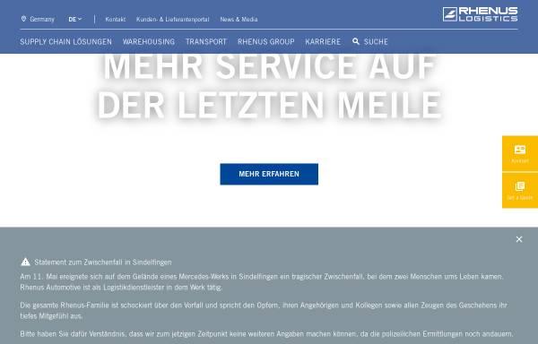 Vorschau von www.rhenus.com, Rhenus AG & Co. KG