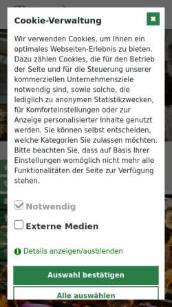Vorschau der mobilen Webseite www.dillertal.de, Restaurant Dillertal