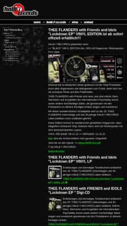 Vorschau der mobilen Webseite www.halb7records.de, Halb 7 Records