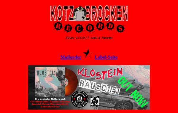 Vorschau von www.kotzbrocken-info.de, Kotzbrocken