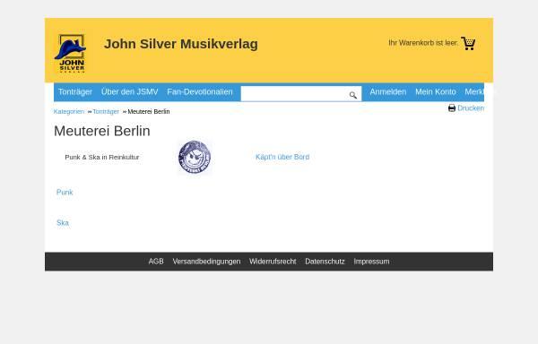 Vorschau von www.meuterei-berlin.de, Meuterei Berlin
