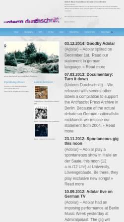 Vorschau der mobilen Webseite www.unterm-durchschnitt.de, Unterm Durchschnitt