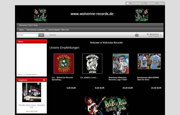 Vorschau von wolverine-records.de, Wolverine Records