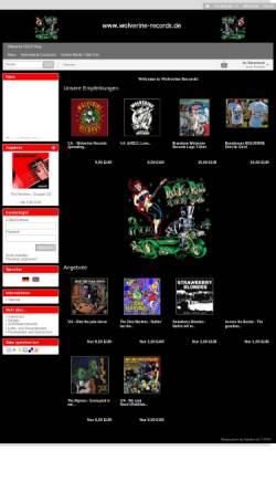 Vorschau der mobilen Webseite wolverine-records.de, Wolverine Records
