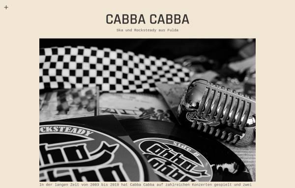 Vorschau von www.cabba-cabba.de, Cabba Cabba