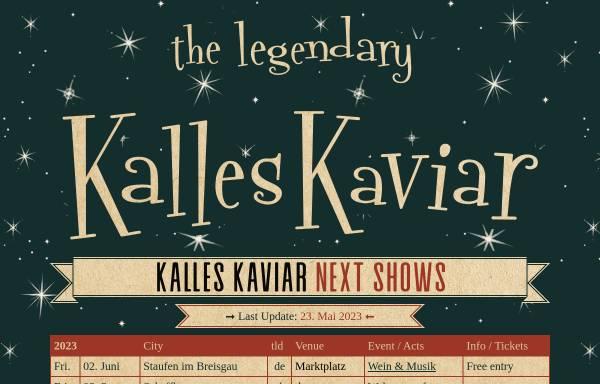 Vorschau von www.kalleskaviar.ch, Kalles Kaviar
