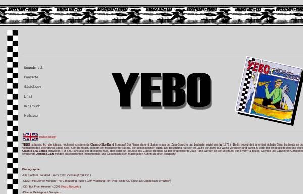 Vorschau von www.yebo.de, Yebo