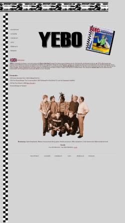 Vorschau der mobilen Webseite www.yebo.de, Yebo