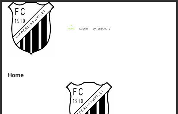 Vorschau von www.fcniederlinxweiler.de, FC 1910 Niederlinxweiler