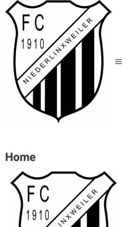 Vorschau der mobilen Webseite www.fcniederlinxweiler.de, FC 1910 Niederlinxweiler