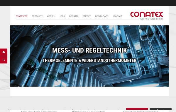 Vorschau von www.conatex.de, Conatex Dipl.-Ing. Ludwig Colbus GmbH