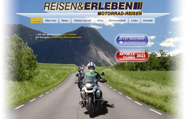 Vorschau von www.reisenunderleben.net, Reisen und Erleben Motorradreisen Werner GmbH