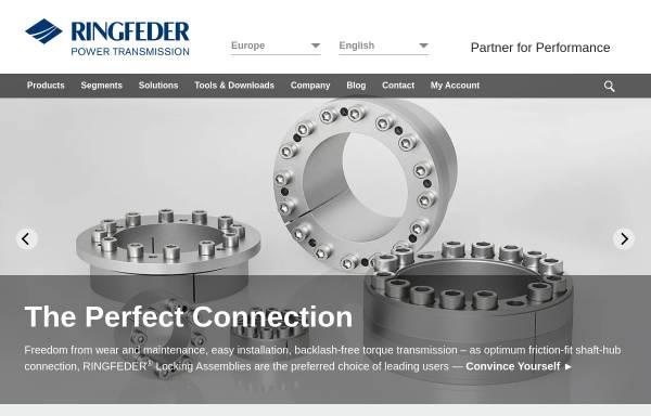 Vorschau von www.ringfeder.com, RINGFEDER POWER TRANSMISSION GMBH