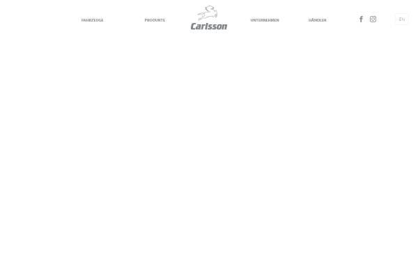 Vorschau von www.carlsson.de, Carlsson Autotechnik GmbH Ralf und Andreas Hartge Gut Wiesenhof