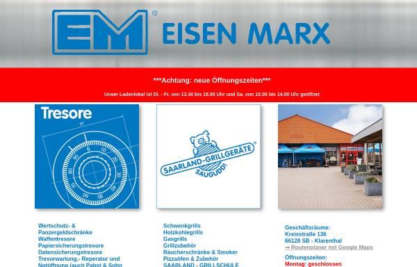 Vorschau von www.eisen-marx.de, Eisen-Marx GmbH Klarenthal