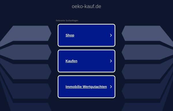 Vorschau von www.oeko-kauf.de, Öko-Einkaufsführer