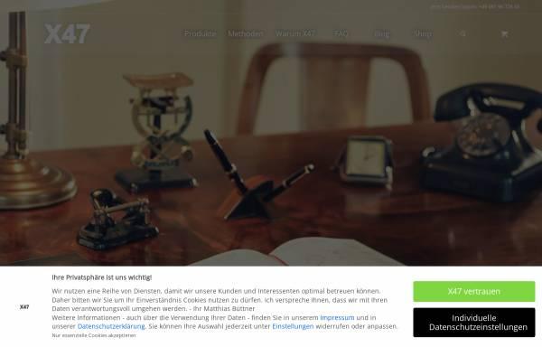 Vorschau von www.x47.com, X47 GmbH
