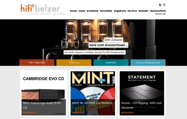 Vorschau von www.hifibelzer.de, hifibelzer, Inh. Markus Belzer