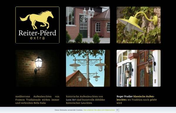 Vorschau von reiter-pferd-extra.de, Tina Maiwald, M & V Leuchten, Brunnen und mehr