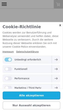 Vorschau der mobilen Webseite www.kur-apotheke-bad-aibling.de, Kur-Apotheke