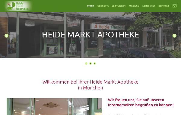 Vorschau von www.apomuc.de, Heide-Markt-Apotheke
