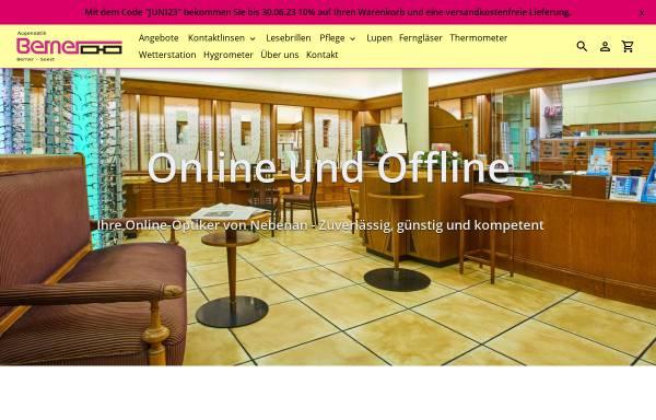 Vorschau von www.augenoptik-berner.de, Augenoptik Berner e.K.