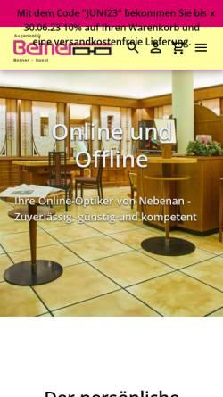 Vorschau der mobilen Webseite www.augenoptik-berner.de, Augenoptik Berner e.K.
