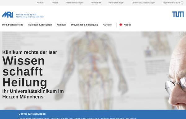Vorschau von www.mri.tum.de, Rechts der Isar (TUM)