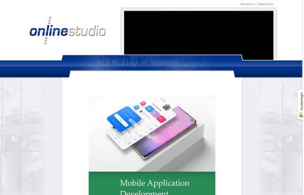 Vorschau von www.onlinestudio.de, OnlineStudio
