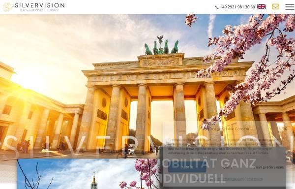 Vorschau von www.silvervision.de, Silvervision - Luxusbusse