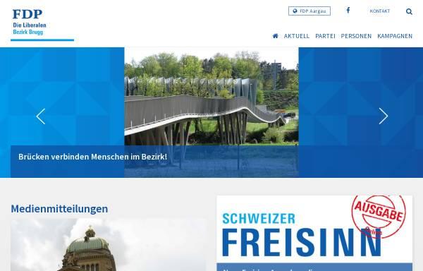 Vorschau von www.fdp-bezirk-brugg.ch, FDP Bezirk Brugg