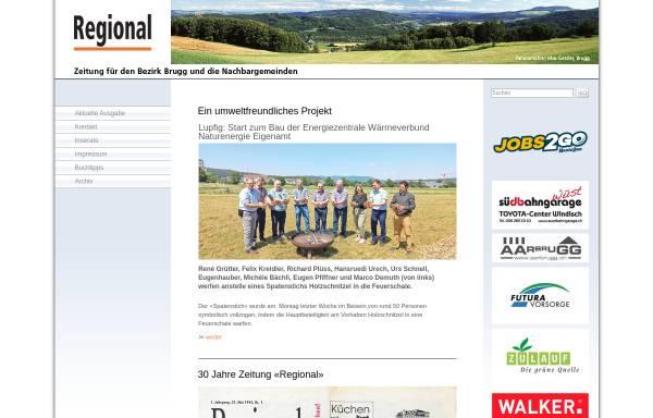 Vorschau von www.regional-brugg.ch, Regional (Brugg)