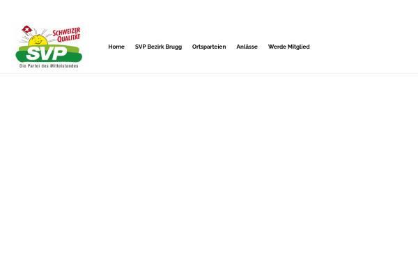 Vorschau von www.svp-bezirk-brugg.ch, SVP Bezirk Brugg