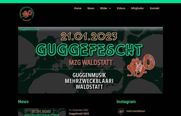 Vorschau von www.blaari.ch, Guggenmusik Mehrzweckblaari