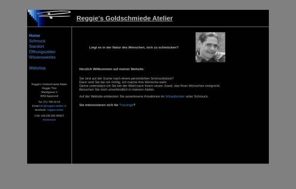 Vorschau von reggies-atelier.ch, Reggie's Goldschmiede Atelier