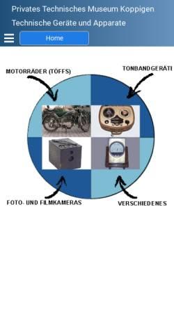 Vorschau der mobilen Webseite www.schuepbach.org, Jürgen Schüpbach Schrottsammlung