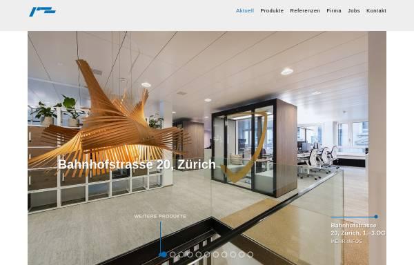 Vorschau von www.isolag.ch, Isolag AG für integrierte Deckensysteme